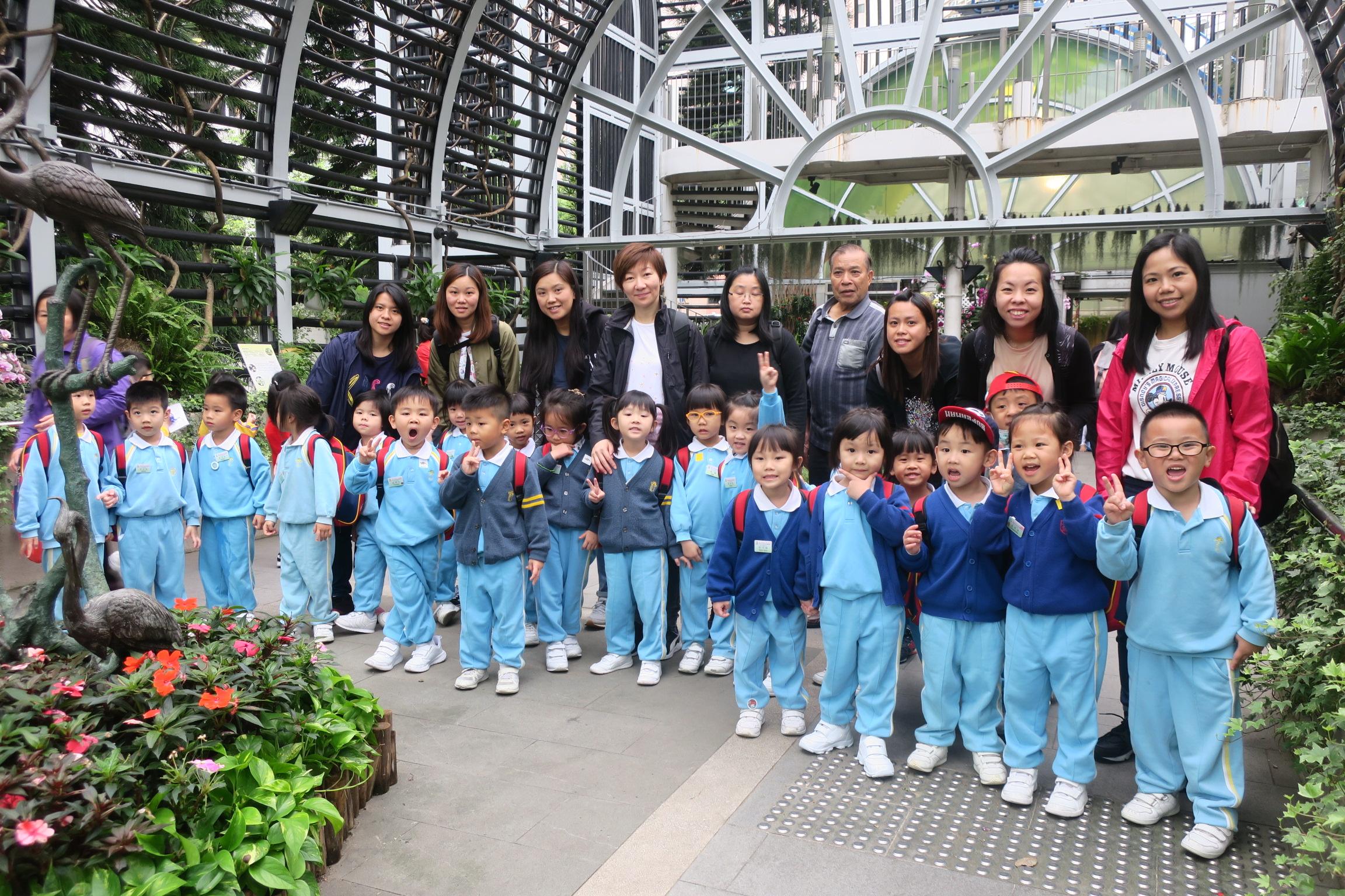 (18-19年度)2019-4-4–低班參觀動植物公園