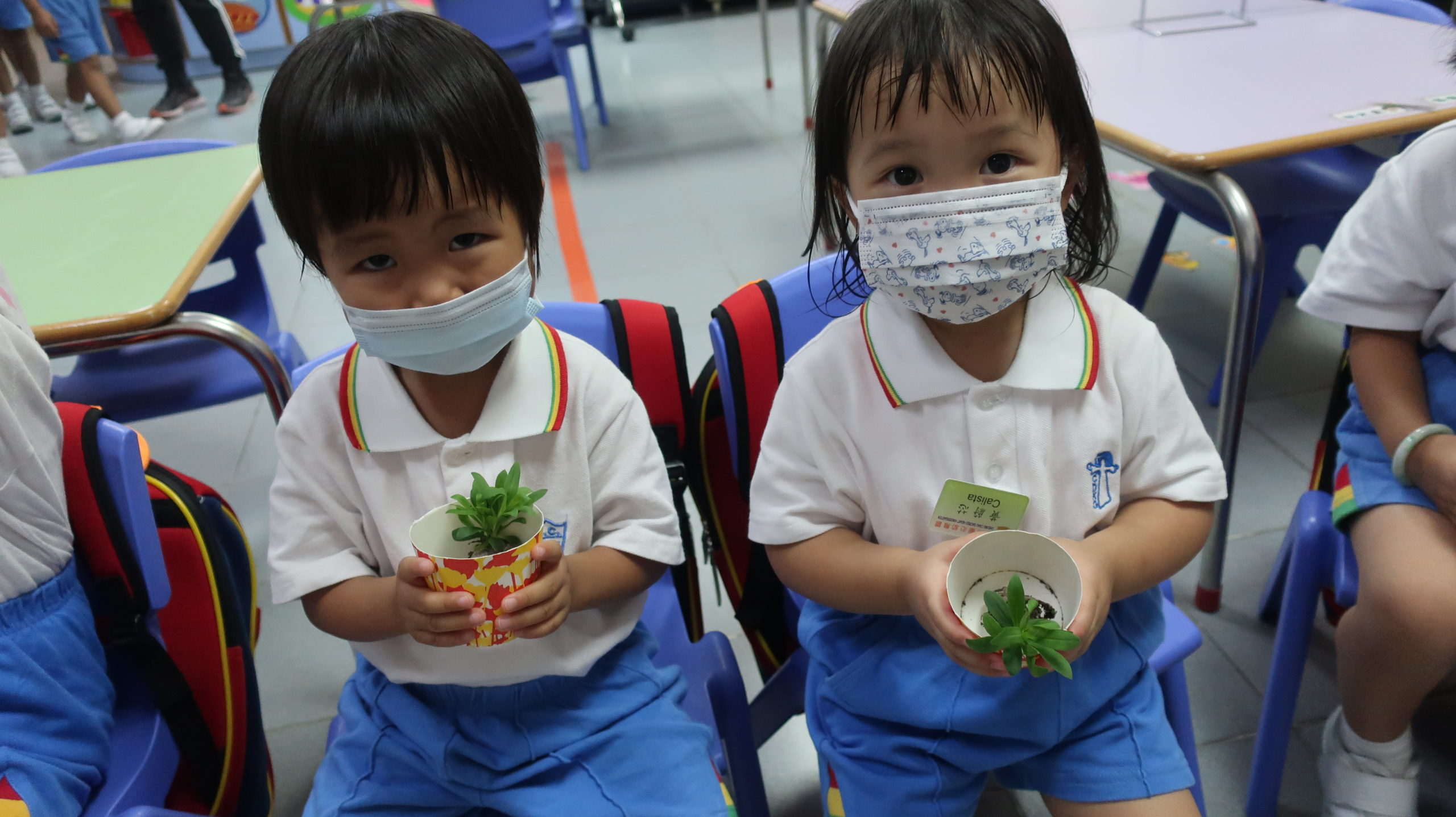 (20-21年度)2020-10-30–一人一花種植活動